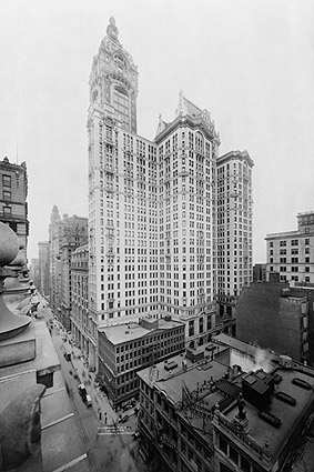City Investing Building & Singer Tower, NYC Photo Print