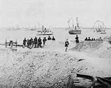 Civil War Federal Navy at Charleston 1865 Photo Print for Sale