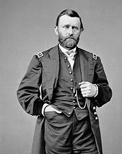 Civil War General Ulysses S. Grant Portrait Photo Print for Sale