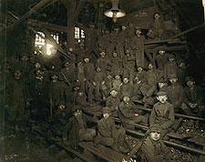 Coal Miners Pennsylvania Lewis Hine 1911 Photo Print for Sale
