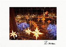 Columbus Circle New York City Personalized Christmas Cards