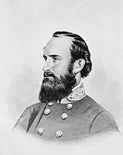 Confederate General Stonewall Jackson Drawing Photo Print for Sale