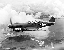 Curtiss TP-40 / P-40 Warhawk Trainer Photo Print for Sale