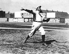 Cy Young Throwing Baseball Boston Red Sox Photo Print for Sale