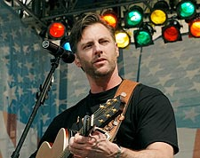Darryl Worley Playing Guitar Photo Print for Sale