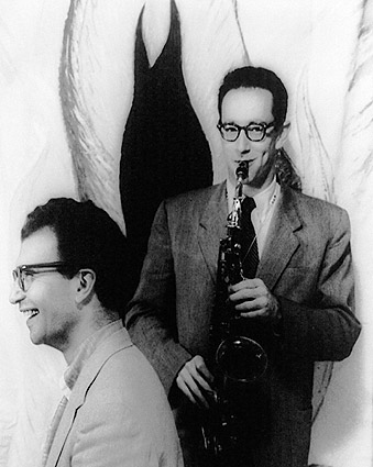 Dave Brubeck & Paul Desmond Portrait Photo Print