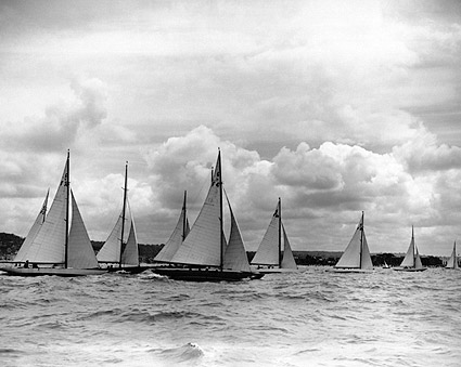 Deauville-Trouville Sailing Boat Regatta Photo Print
