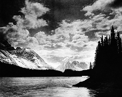 Denali Mountains Alaska 1920 Photo Print