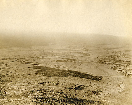 Destroyed Village in France World War I Photo Print