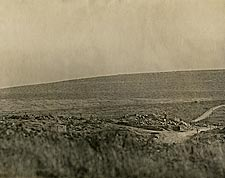 Destruction at Dead Man's Hill in France WWI Photo Print for Sale