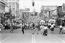 Downtown Little Rock Arkansas 1958 Photo Print for Sale