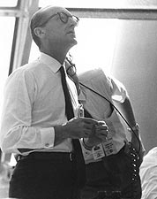 Dr. George Mueller Watching Apollo 11 Photo Print for Sale