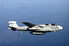 EA-6B Prowler & USS Theodore Roosevelt Photo Print for Sale