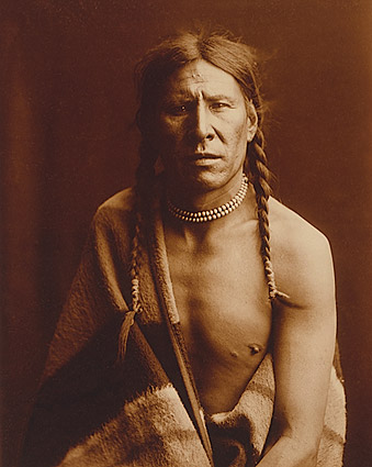 Edward S. Curtis Native American Portrait Photo Print