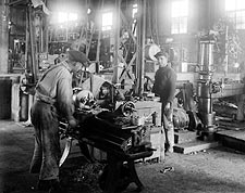 Electric Company Factory Machine Shop 1900s Photo Print for Sale