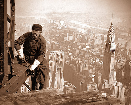 Empire State Building Iron Worker 1930 Photo Print