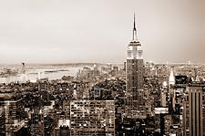 Empire State Building New York City Photo Print for Sale