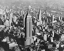 Empire State & Chrysler Building, New York Photo Print for Sale