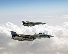 F-14 Tomcat Observation Formation Photo Print for Sale
