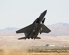 F-15 Eagle Fighter Jet Take-off Photo Print for Sale