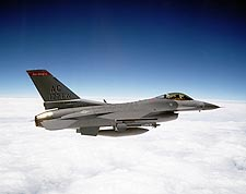 F-16 Fighter Jet in Flight Air Force Photo Print for Sale