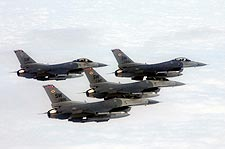 F-16 Fighting Falcons Formation US AF Photo Print for Sale
