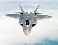F-22 Raptor Aircraft in Flight Air Force Photo Print for Sale