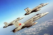 F/A-18 Hornets Formation VFA-81 F-18 Photo Print for Sale