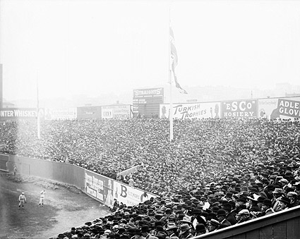 Fenway Park Outfield 1912 World Series Photo Print