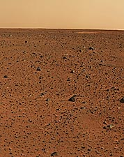 First Color Image from Mars Rover Photo Print for Sale