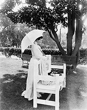 First Lady Mrs. Theodore Roosevelt 1904 Photo Print for Sale