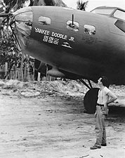 B-17 Flying Fortress 'Yankee Doodle, Jr.' WWII Photo Print for Sale