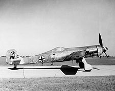 Focke-Wulf Ta 152H German WWII Aircraft Photo Print for Sale