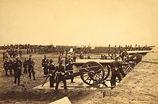 Fort Richardson Artillery, Civil War 1861 Photo Print for Sale