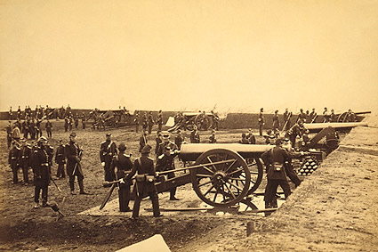 Fort Richardson Artillery, Civil War 1861 Photo Print