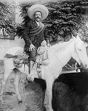 Francisco 'Pancho' Villa on Horseback Mexican Revolution Photo Print for Sale