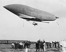 French Dirigible / Airship Republique Photo Print for Sale