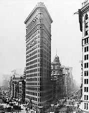 Fuller Building / The Flatiron Building NYC 1910 Photo Print for Sale