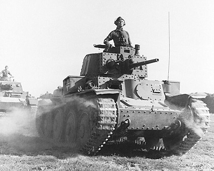 General Erwin Rommel With WWII Tank  Photo Print