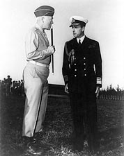 General George Patton & Lord Mountbatten Photo Print for Sale