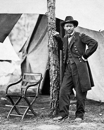 General Ulysses S. Grant at City Point 1864 Photo Print