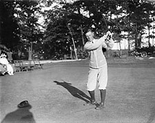 Portrait of Golf Player Chick Evans  Photo Print for Sale