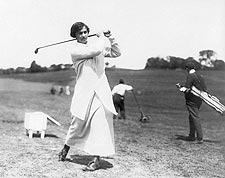 Golfer Marion Hollins Golf Swing Photo Print for Sale