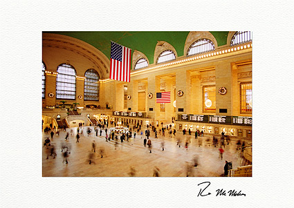 Grand Central Station New York City Individual Christmas Cards