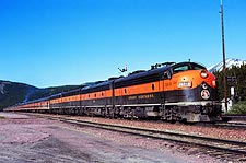 Great Northern Railway 'Empire Builder' 361-A Train Photo Print for Sale