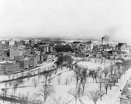 Hartford, Connecticut After Snowfall 1916 Photo Print