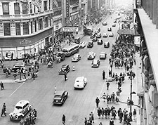 Herald Square 34th St. New York City 1945 Photo Print for Sale