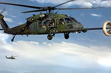 HH-60 Pave Hawk in Flight Refueling Photo Print for Sale