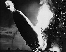 Hindenburg Disaster Lakehurst New Jersey Photo Print for Sale