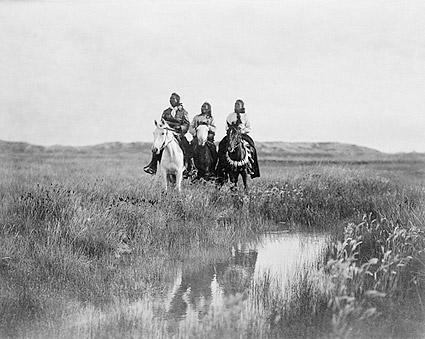 In the Land of the Sioux Edward S. Curtis Photo Print